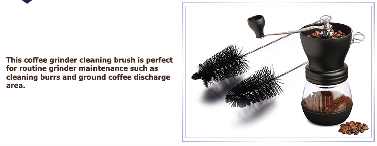 Coffee Pot Cleaning Brush